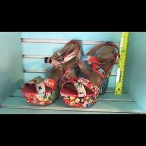 JustFab Chunky Heels